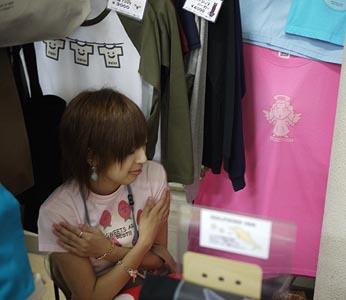 Tシャツ屋ShopMajopの雑記帖-TensiTに守ってもらった