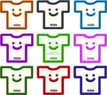 $Tシャツ屋ShopMajopの雑記帖-Tshirt_Colorful_T デザイン詳細